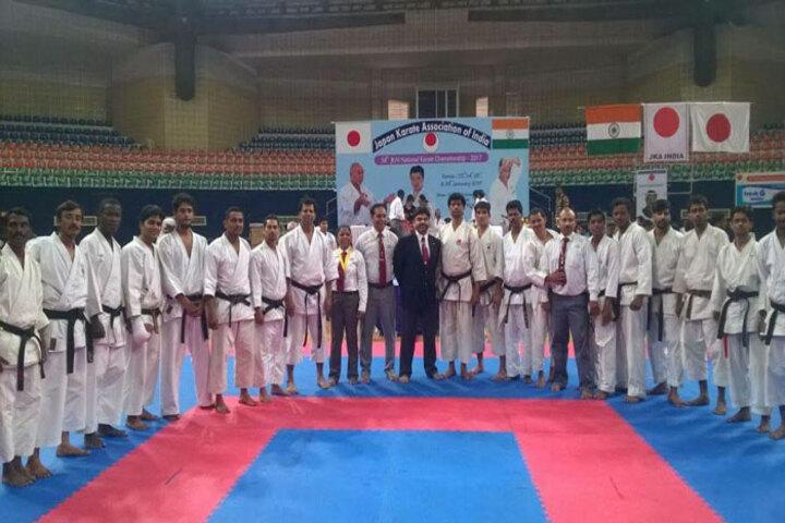 City International School-Karate