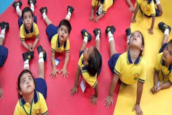 City International School-Yoga