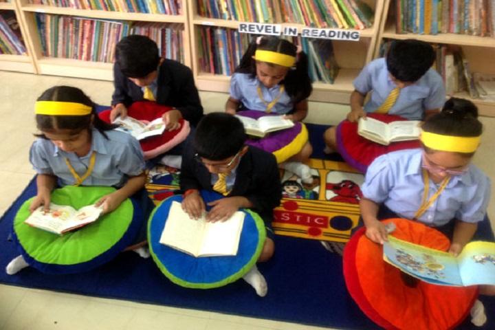 Podar International School-Library
