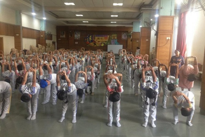 Gopal Sharma International School-Yoga