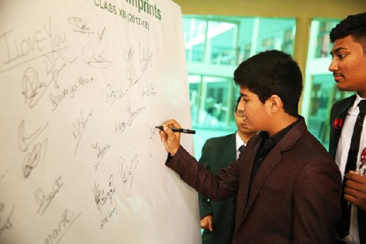 Delhi Public School-Signature Day