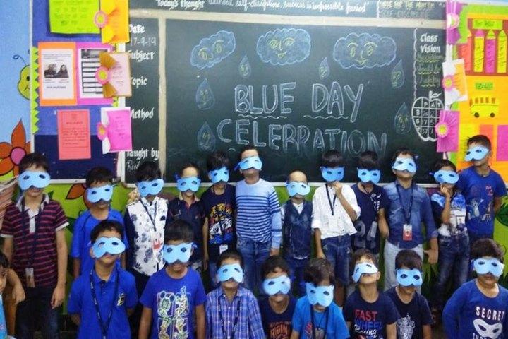 Ryan International School-Blue Day