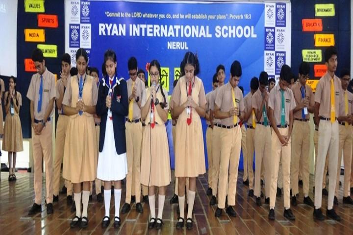Ryan International School-Prayer