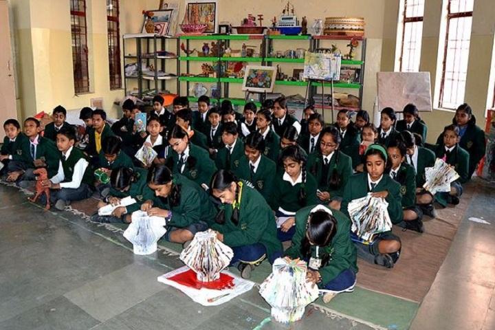 Delhi Public School-Art And Craft