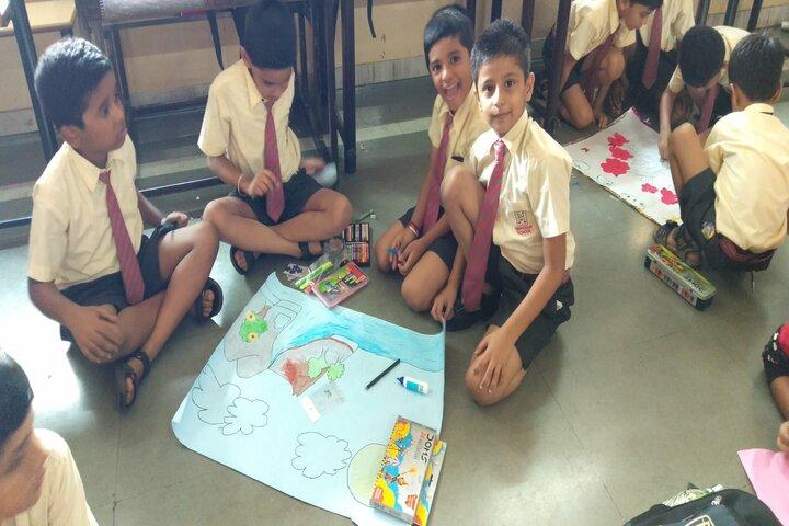 Meridian School-Drawing