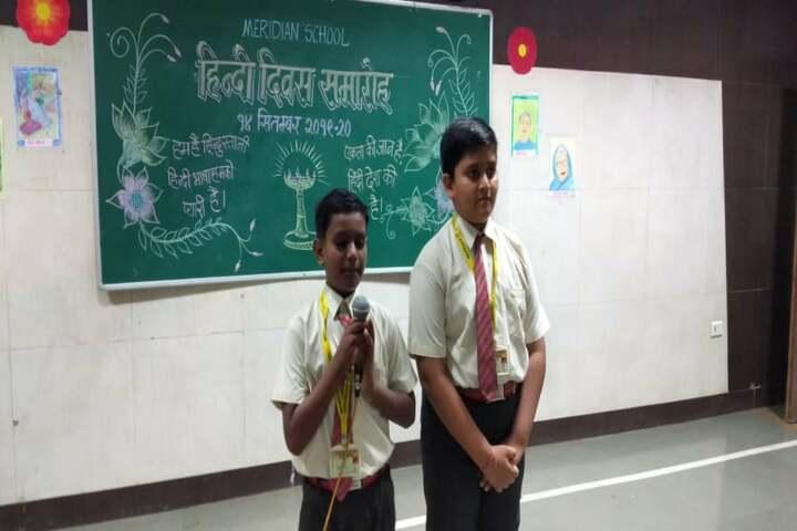 Meridian School-Speech