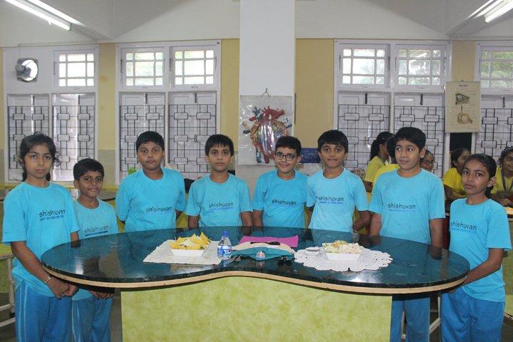 Shishuvan English Medium School-Food Festival