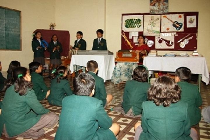 Delhi Public School-Music Class