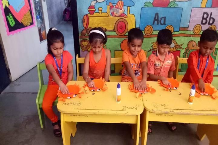 Sanjivani International School-Art And Craft