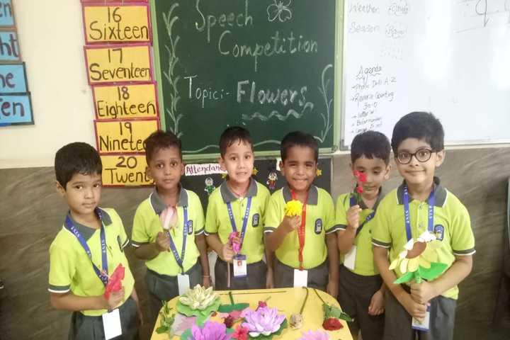 Sanjivani International School-Green Day