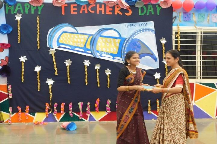 Sanjivani International School-Teachers Day