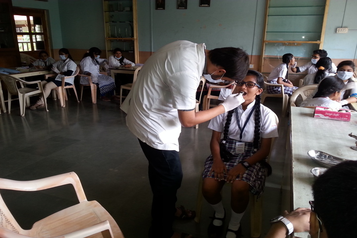 Vishwajyot High School-Dental Checkup