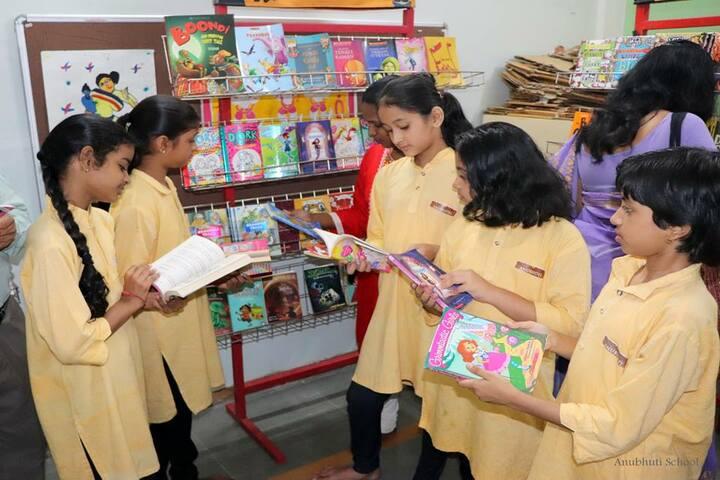 Anubhuti School-Library
