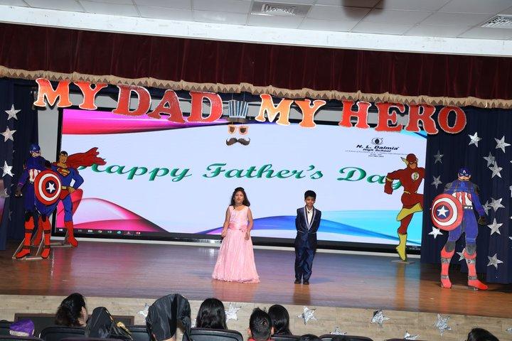 N  L Dalmia High School-Fathers Day