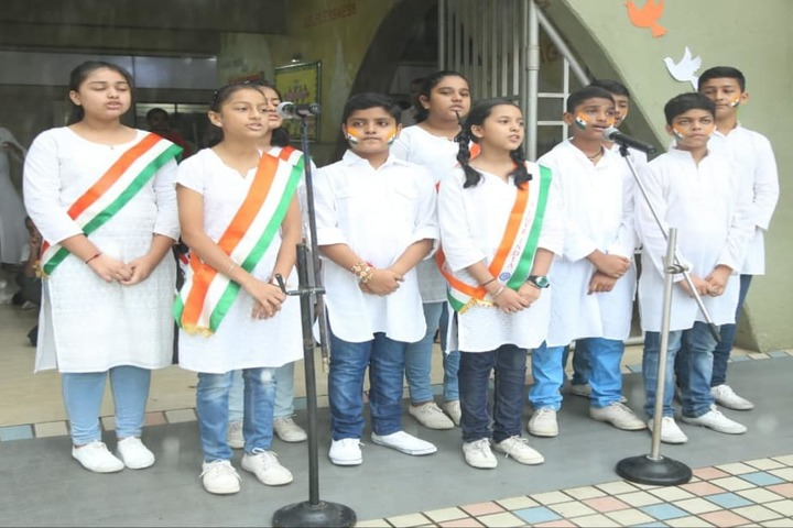 N  L Dalmia High School-Independence Day