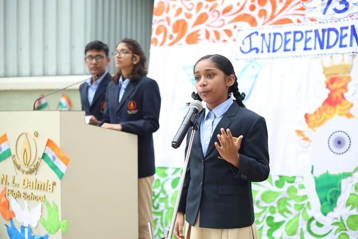 N  L Dalmia High School-Speech
