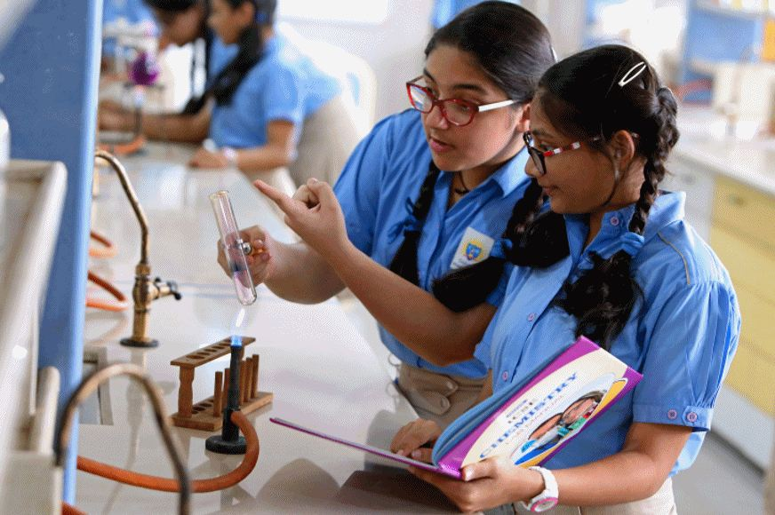 Thakur International School-Chemistry Lab