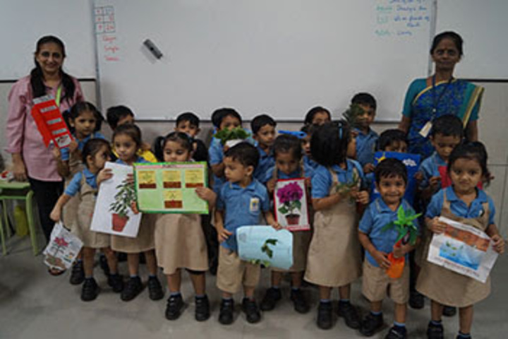 Thakur International School-Envinorment Day