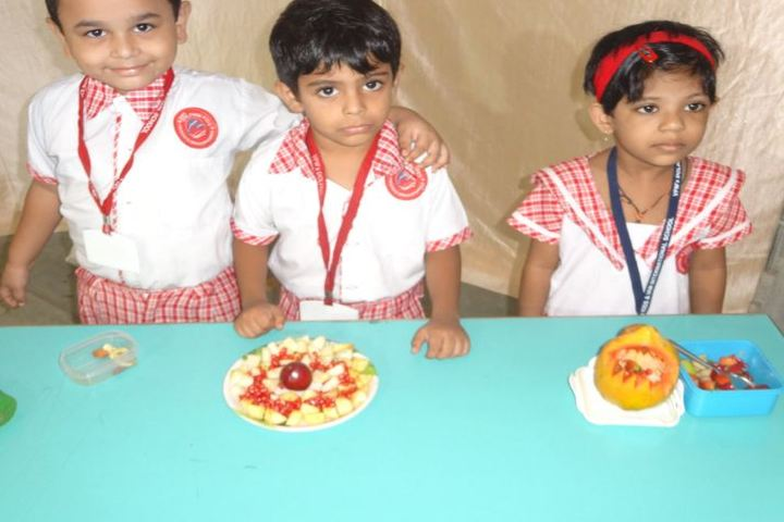 V P M S International School-Fruit Day