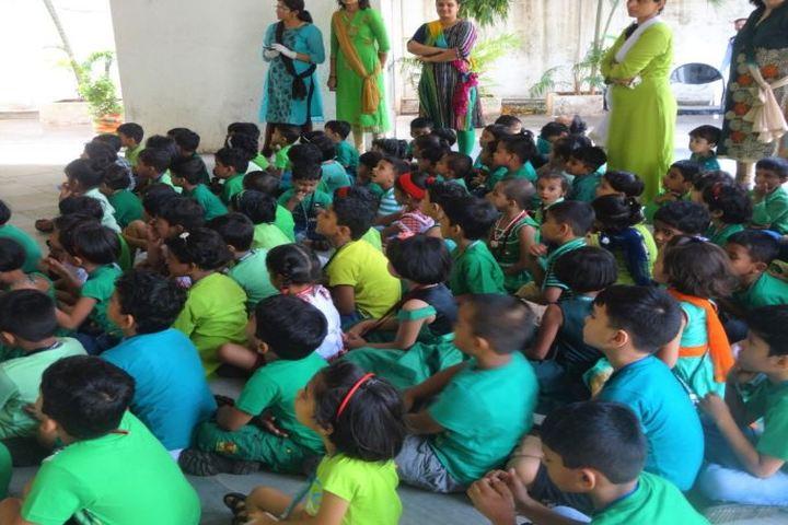 V P M S International School-Green Day