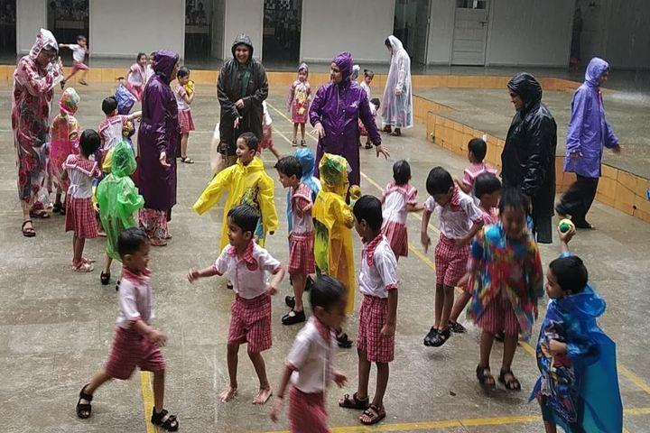 V P M S International School-Rain Dance