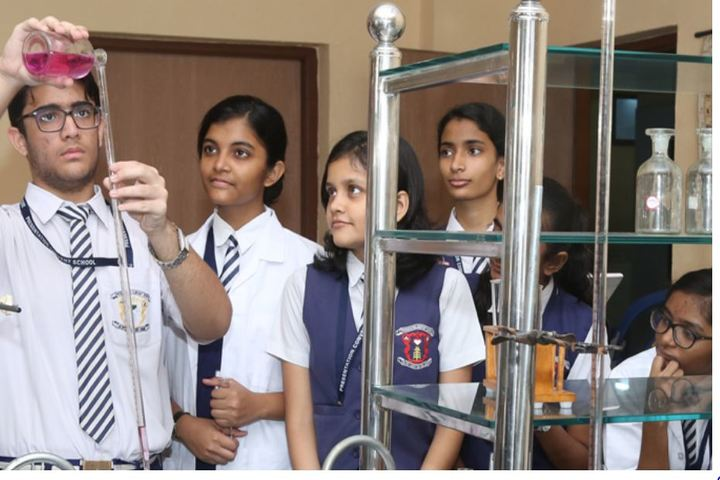Presentation Convent School-Chemistry Lab