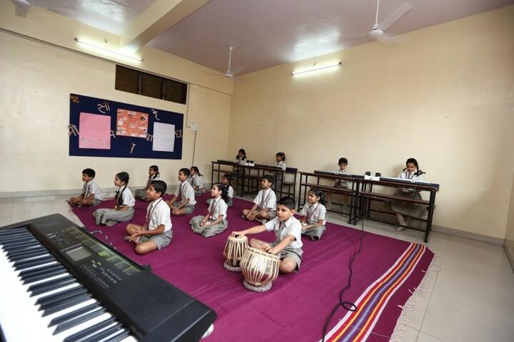 A P International School-Music Room