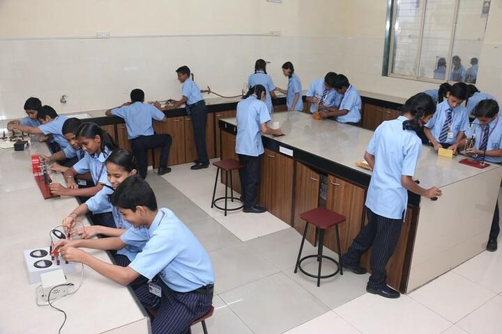 A P International School-Physics Lab