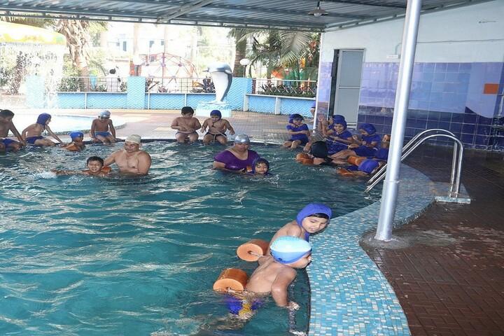 A P International School-Swimming Pool