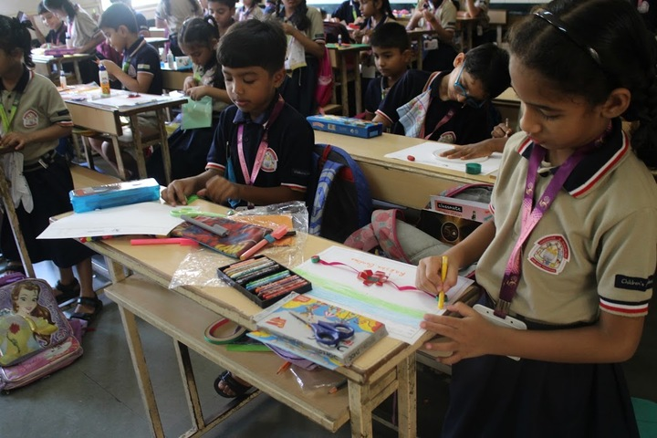 Childrens Academy-Rakhi Making