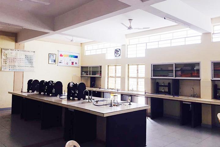 Tomoae Primary English Medium School-Science Lab