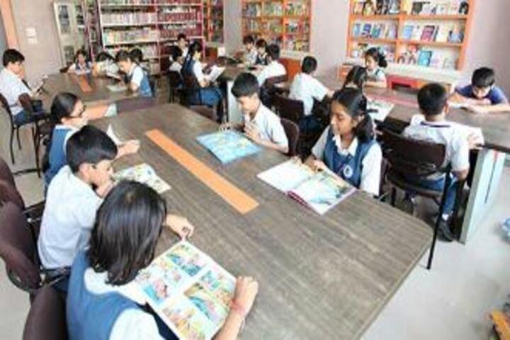 Sadhu Vaswani International School-Library
