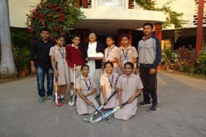 Convent of Jesus and Mary Girls High School-Hockey Team