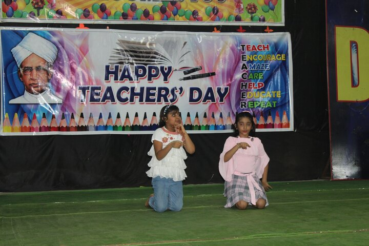 Delhi Public School-Teachers day