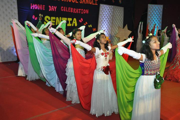 Santhome School-Home Day Celebrations