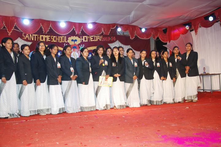 Santhome School-Teachers Day