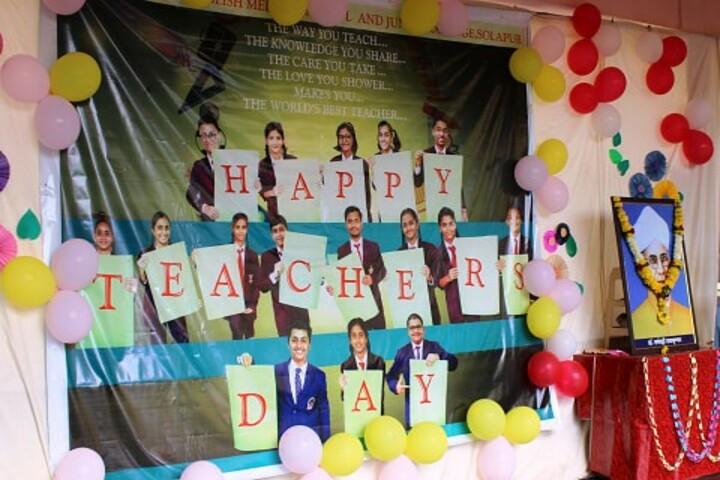 St Thomas English Medium School-Teachers Day