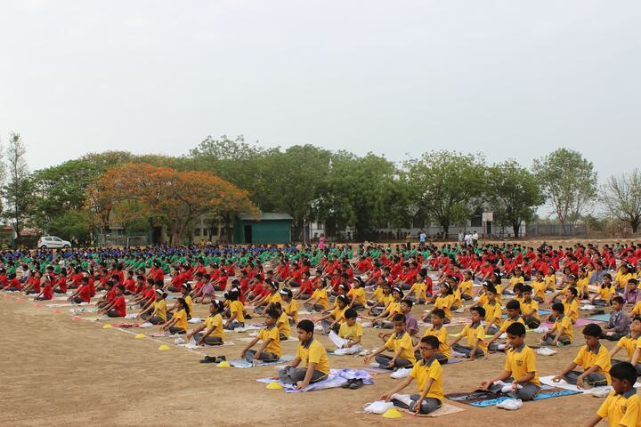St Thomas English Medium School-Yoga