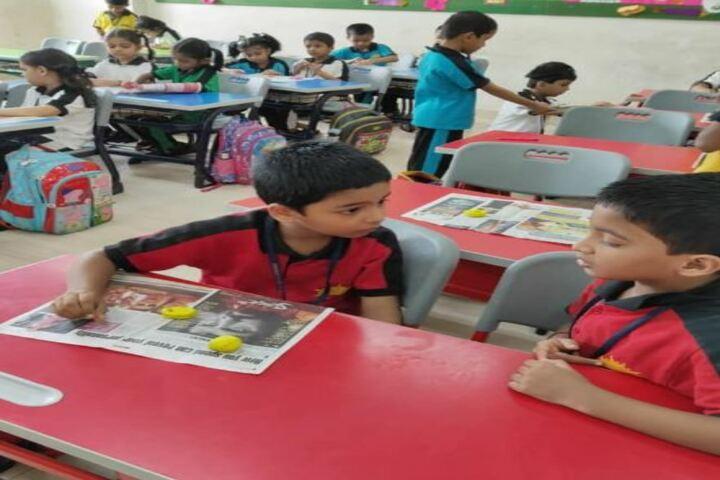 Pawar Public School-Classroom