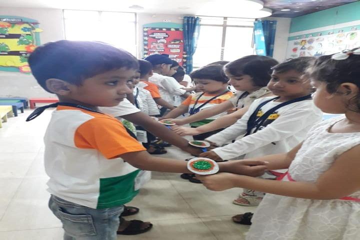 Pawar Public School-Rakhi Celebrations