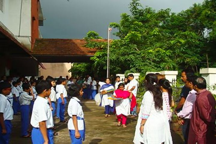Akshara High School-Independence day