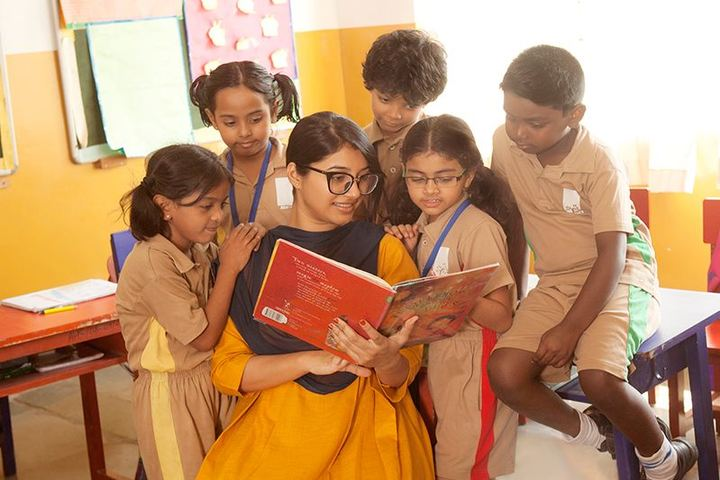Akshara High School-Story Telling