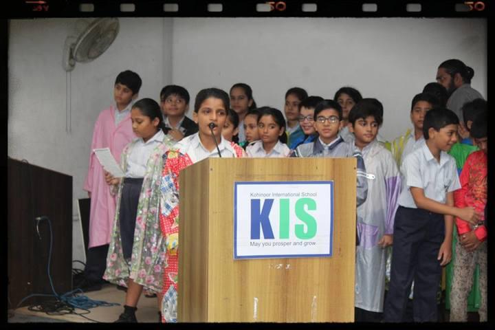 Kohinoor International School-Speech