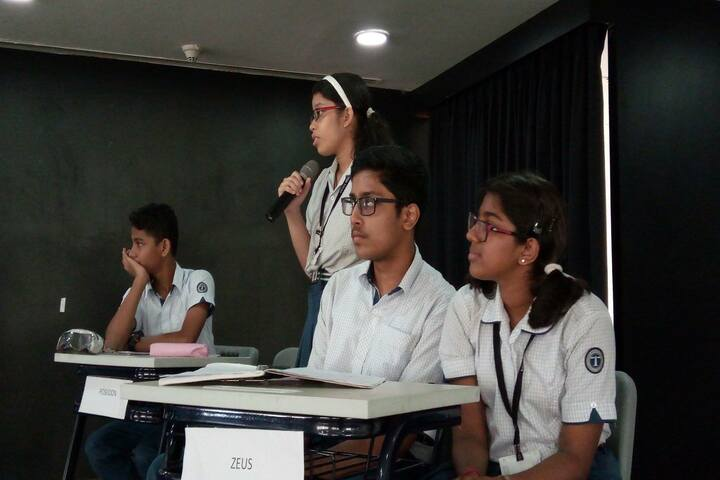 Lodha World School-Debate