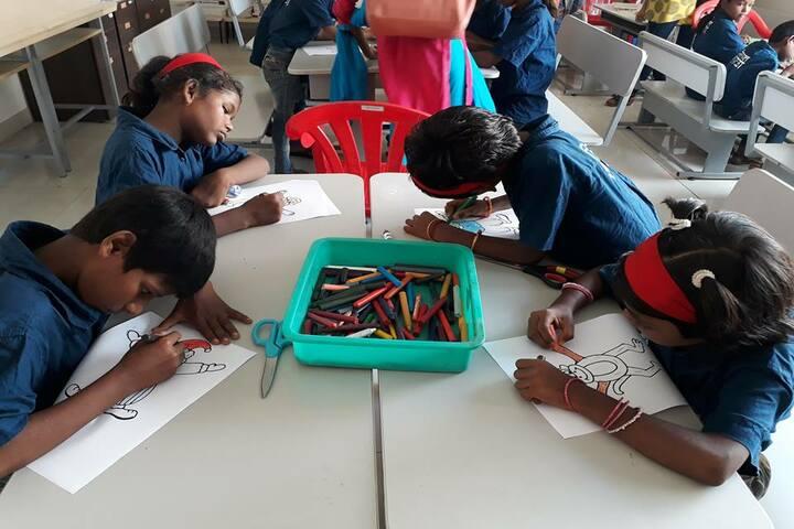 Lodha World School-Drawing