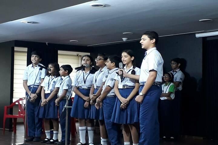 Lodha World School-Singing
