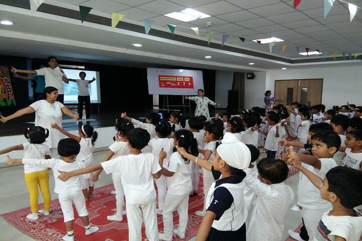 Lodha World School-Yoga