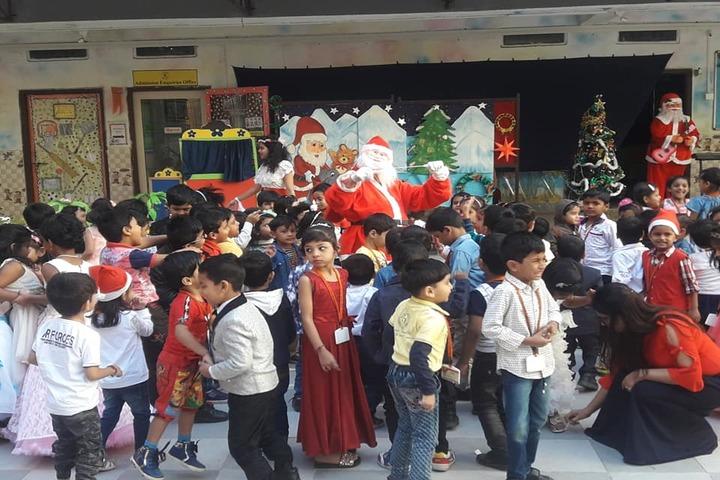 U S Ostwal English Academy-Christmas