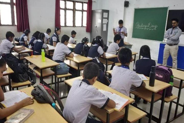U S Ostwal English Academy-Classroom