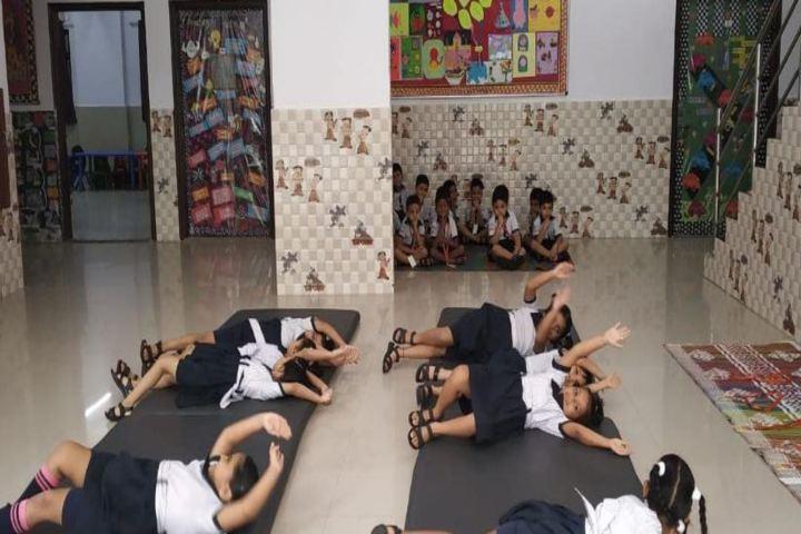 U S Ostwal English Academy-Yoga